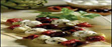 Antipasto Kabob With Fresh Mozzarella